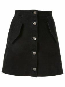 Aje leather mini skirt - Black