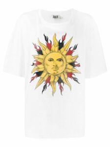 Fausto Puglisi Sun print T-shirt - White