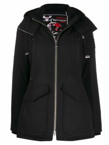 Moose Knuckles plain down coat - Black