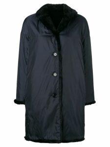 Aspesi buttoned coat - Blue