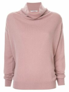 Agnona turtle neck pullover - Pink