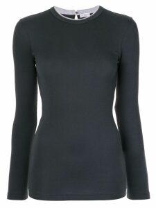 Brunello Cucinelli classic long sleeve top - Blue