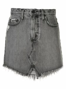 Nobody Denim Edge denim skirt - Grey