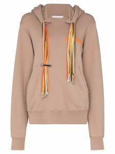 Ambush multi-cord hoodie - Brown