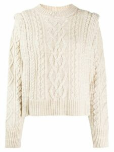 Isabel Marant Étoile Tayle cable-knit jumper - White