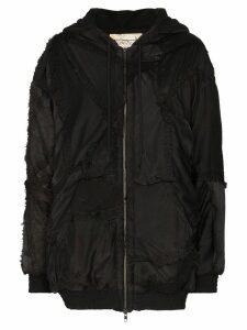 By Walid Hayden embroidered silk jacket - Black