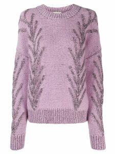 Marco De Vincenzo knitted jumper - Pink