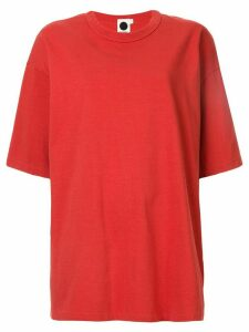 Bassike heritage T-shirt - Red