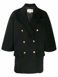 Gucci boxy-fit blazer jacket - Black