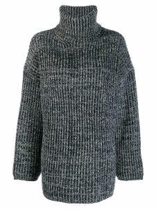 Acne Studios ribbed high-neck sweater - Grey