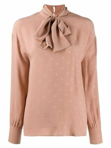 Valentino VLOGO pussybow blouse - Pink