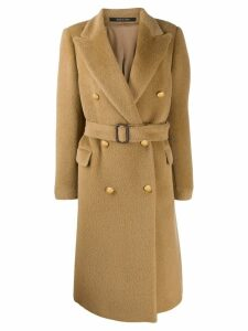 Tagliatore Jole coat - Brown