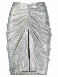 Iro Tirda midi skirt - Metallic