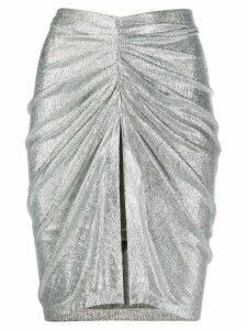 IRO Tirda midi skirt - Metallic
