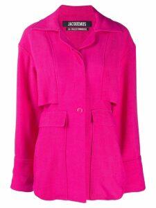 Jacquemus double vent shirt - Pink