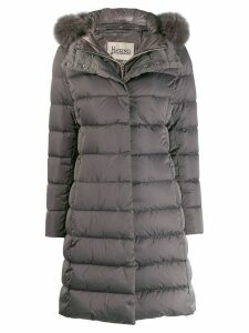 Herno mid-length puffer jacket - Grey
