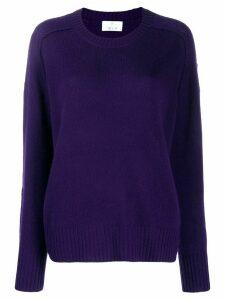 Allude fine knit jumper - Purple