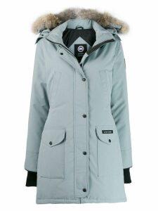 Canada Goose padded parka coat - Blue