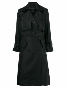Eudon Choi double breasted coat - Black