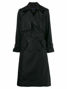 Eudon Choi double breasted coat - Black