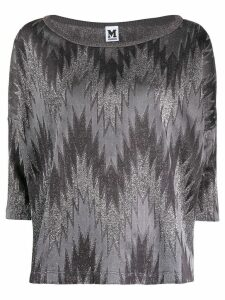 M Missoni zig zag pattern top - Grey
