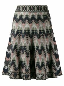 M Missoni zig zag pattern skirt - Pink