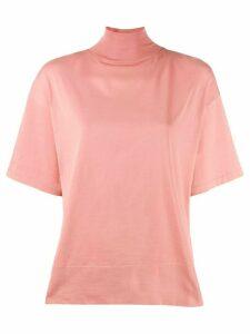 Acne Studios mock neck T-shirt - Pink