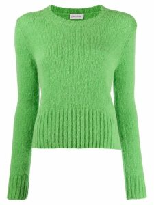 Moncler knitted crewneck jumper - Green