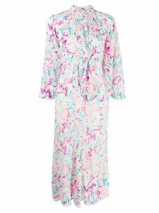 Rixo floral print dress - White