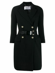 Elisabetta Franchi fitted blazer-dress - Black