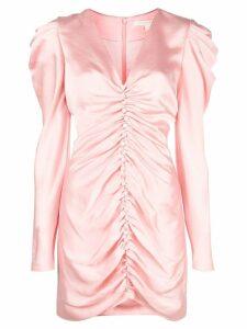 Jonathan Simkhai puff sleeve mini dress - Pink