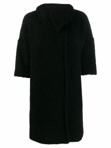Liu Jo 3/4 sleeved coat - Black