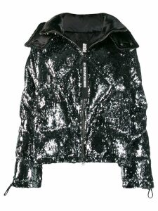 As65 sequin embellished jacket - Silver