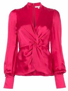 Jonathan Simkhai front twist top - Pink