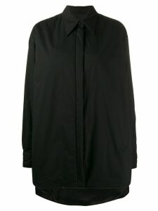 Mm6 Maison Margiela shirt padded jacket - Black