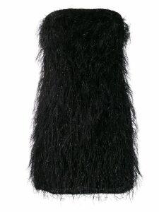 Federica Tosi fringed mini dress - Black