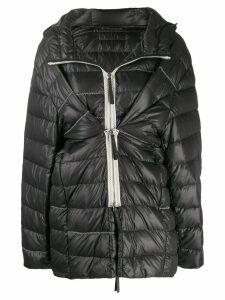 Ruban padded jacket - Black