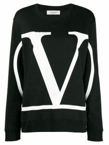 Valentino VLogo oversized sweatshirt - Black