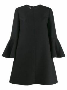 Valentino bell sleeve dress - Black