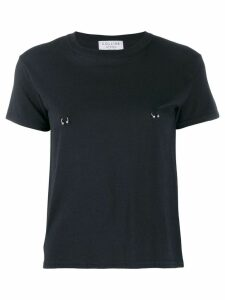 Collina Strada pierced T-shirt - Black