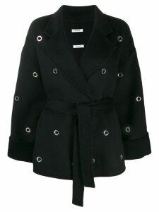P.A.R.O.S.H. eyelet embellished jacket - Black