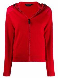 Canada Goose logo patch cardigan - Red