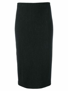 Kiltie fitted pencil skirt - Grey