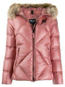 Blauer padded hooded jacket - Pink