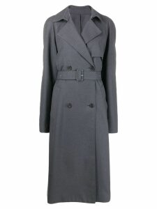Rokh double breasted trench coat - Grey