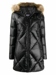 Blauer hooded down jacket - Black