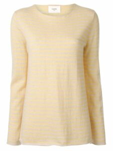 Bassike striped jersey top - Yellow