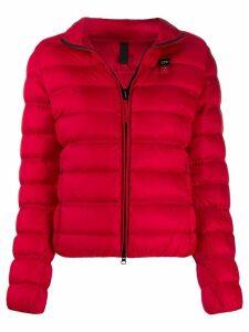 Blauer high neck down jacket - Red