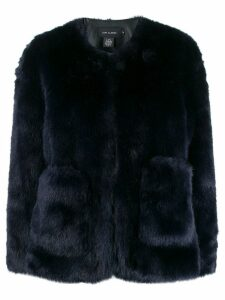 Low Classic faux-fur jacket - Blue