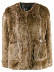 Low Classic faux-fur jacket - Brown